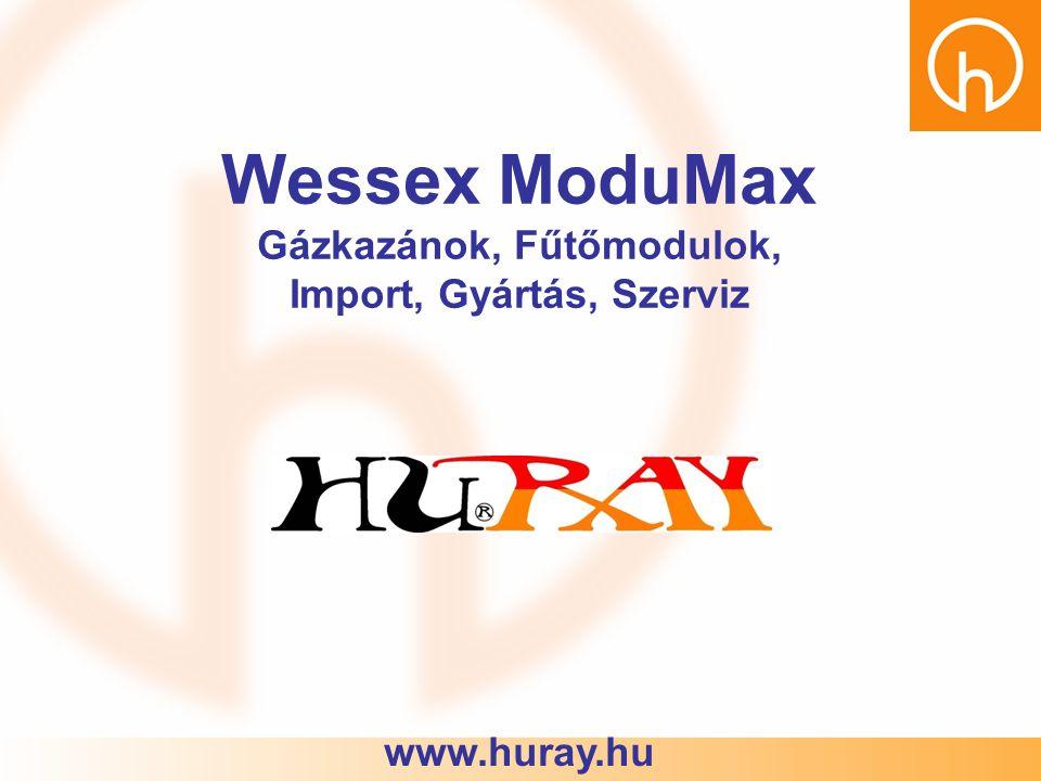 Wessex ModuMax Gázkazánok, Fűtőmodulok, Import, Gyártás, Szerviz www.huray.hu