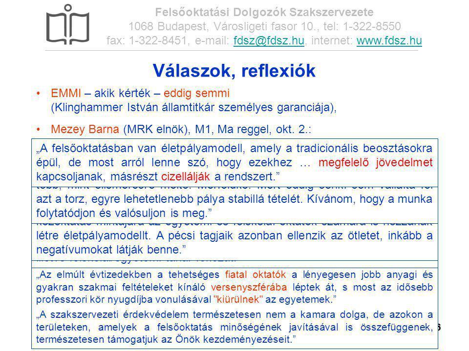 ÉSZT – FDSZ-OV konferencia, 2014. febr. 27. Felsőoktatási Dolgozók Szakszervezete 1068 Budapest, Városligeti fasor 10., tel: 1-322-8550 fax: 1-322-845