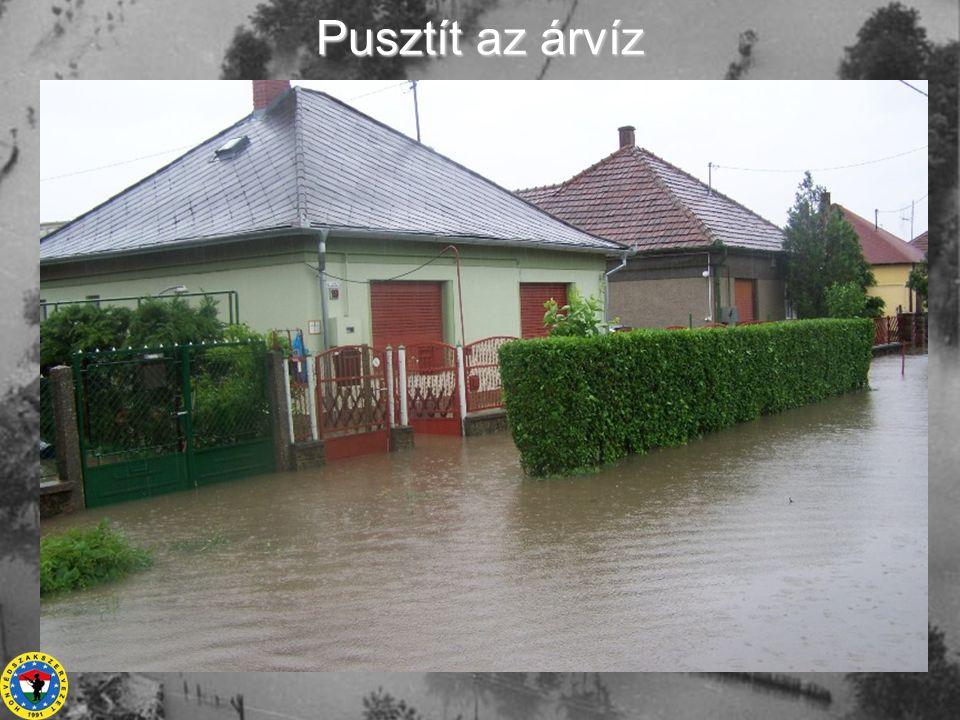Pusztít az árvíz