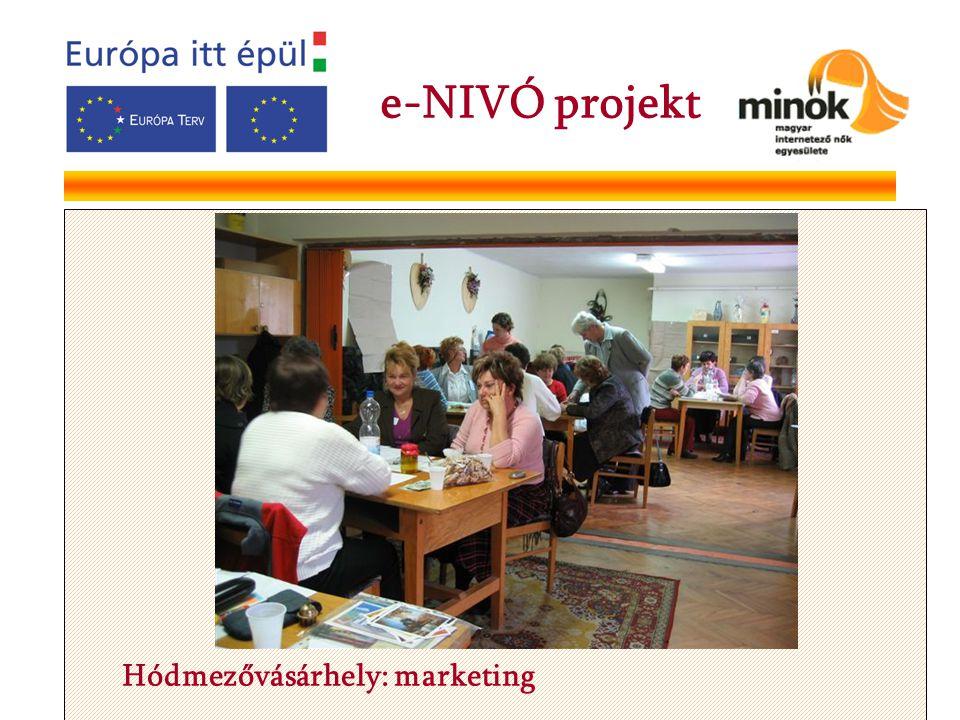 Hódmezővásárhely: marketing e-NIVÓ projekt