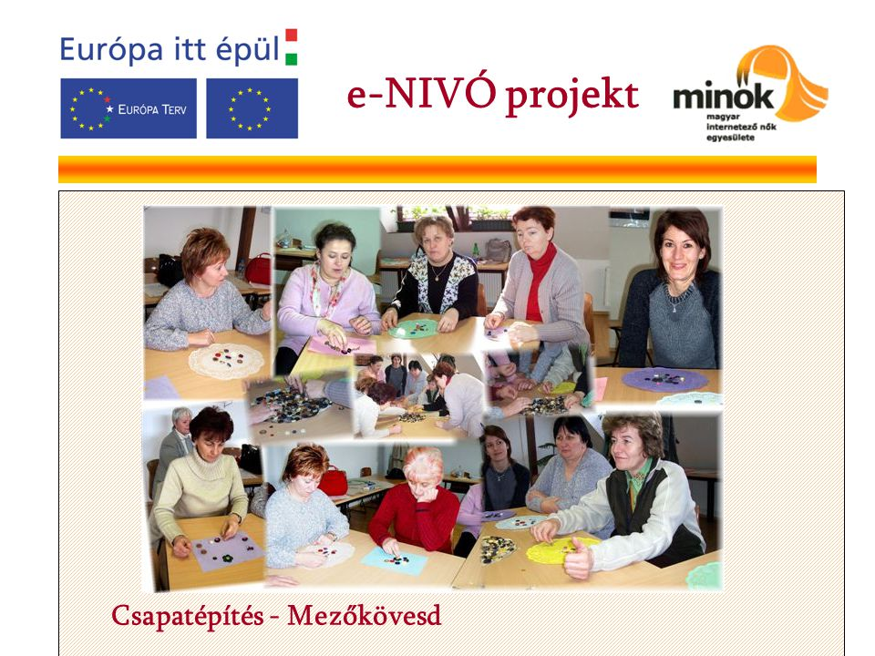 Csapatépítés - Mezőkövesd e-NIVÓ projekt