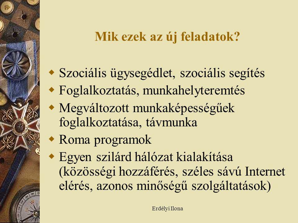 Erdélyi Ilona Mik ezek az új feladatok.