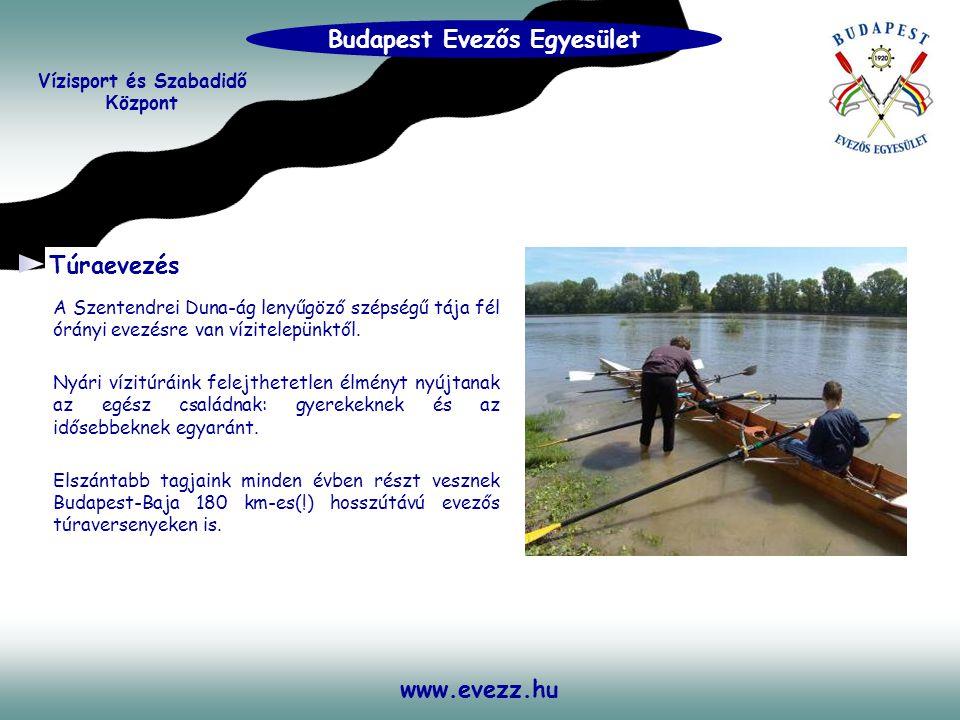 www.evezz.hu A Szentendrei Duna-ág lenyűgöző szépségű tája fél órányi evezésre van vízitelepünktől. Nyári vízitúráink felejthetetlen élményt nyújtanak