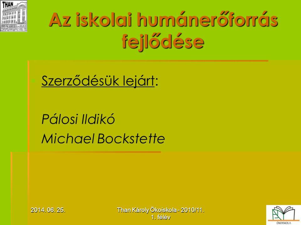 2014.06. 25.2014. 06. 25.2014. 06. 25.Than Károly Ökoiskola - 2010/11.