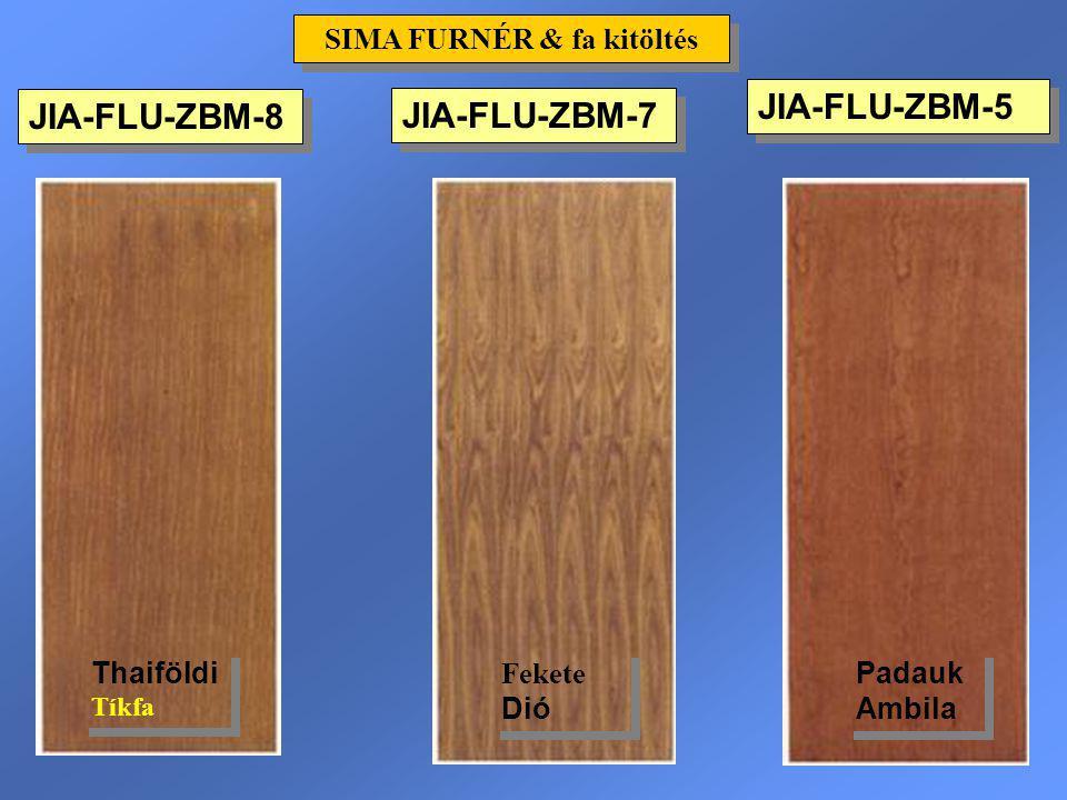 JIA-FLU-ZBM-5 SIMA FURNÉR & fa kitöltés JIA-FLU-ZBM-8 Padauk Ambila Thaiföldi Tíkfa JIA-FLU-ZBM-7 Fekete Dió