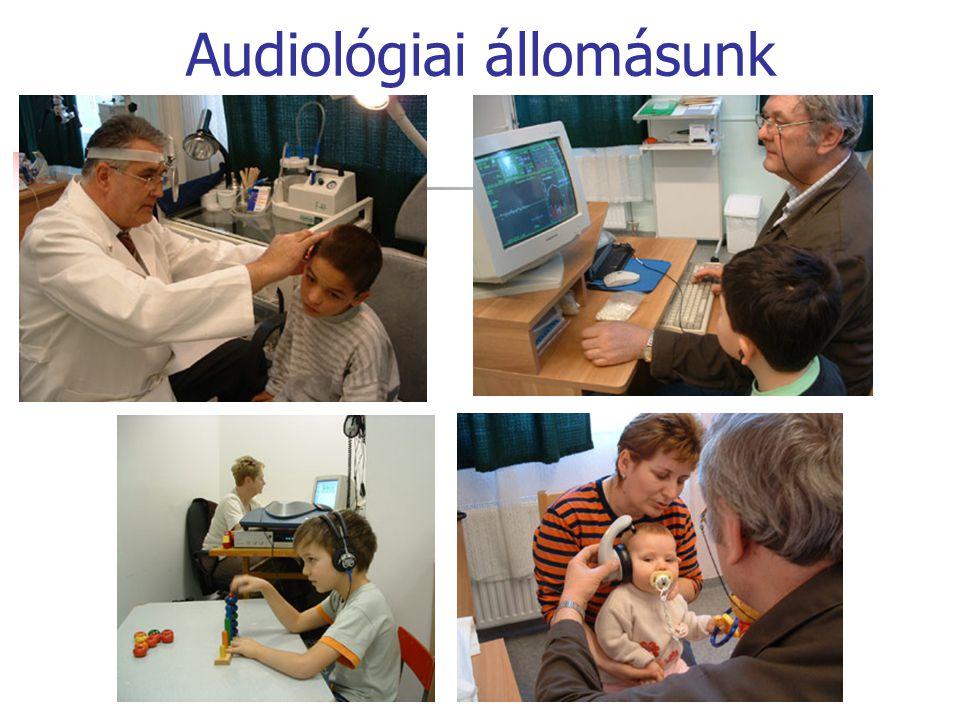 Audiológiai állomásunk