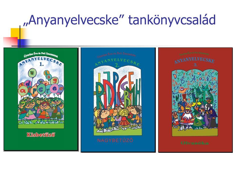 """""""Anyanyelvecske"""" tankönyvcsalád"""