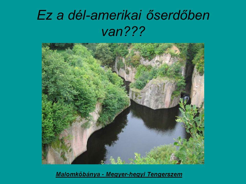 Ez valami afrikai őslakosok barlanglakása??? Barlanglakások Cserépfalun