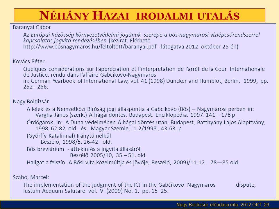 Nagy Boldizsár előadása mta, 2012 OKT. 26.