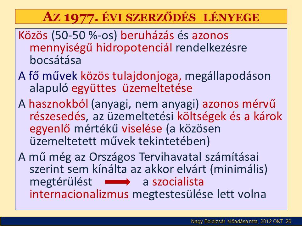 Nagy Boldizsár előadása mta, 2012 OKT. 26. A Z 1977.