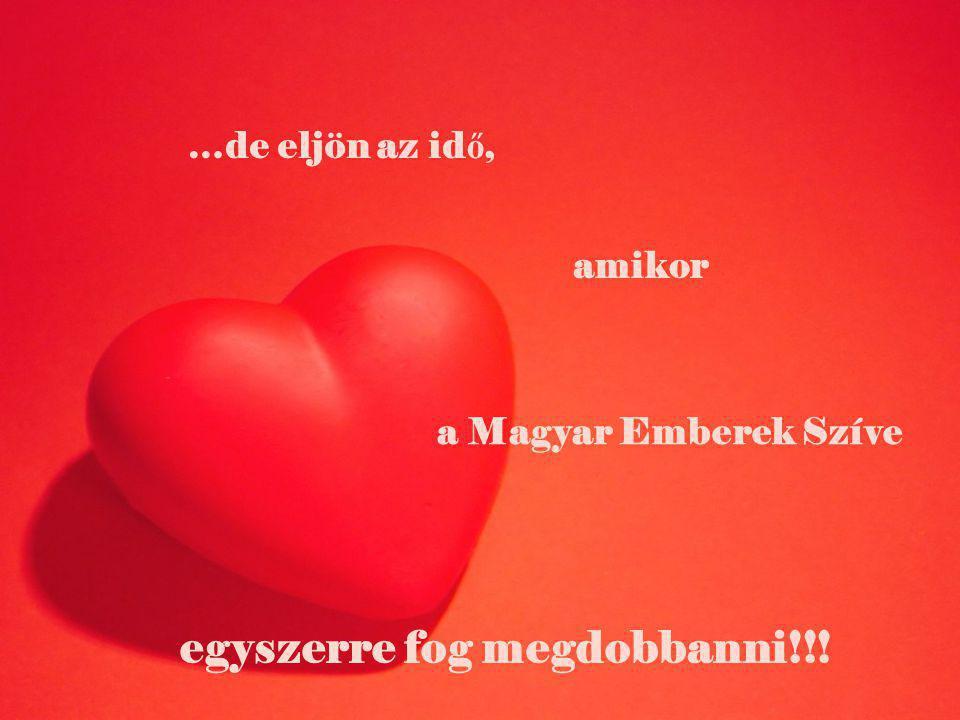 …de eljön az id ő, amikor a Magyar Emberek Szíve egyszerre fog megdobbanni!!!