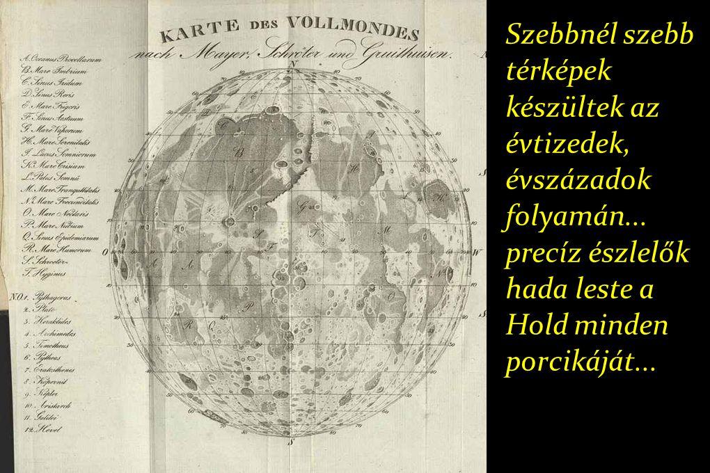 Szebbnél szebb térképek készültek az évtizedek, évszázadok folyamán...