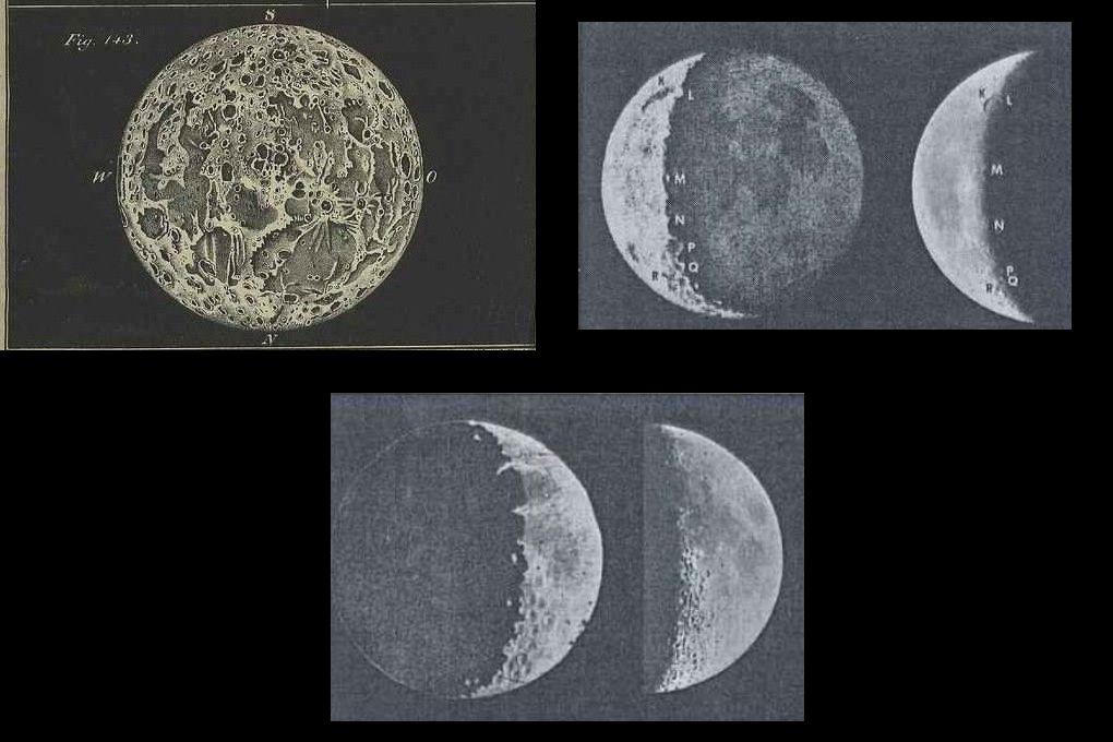 Szebbnél szebb térképek készültek az évtizedek, évszázadok folyamán... precíz észlelők hada leste a Hold minden porcikáját...