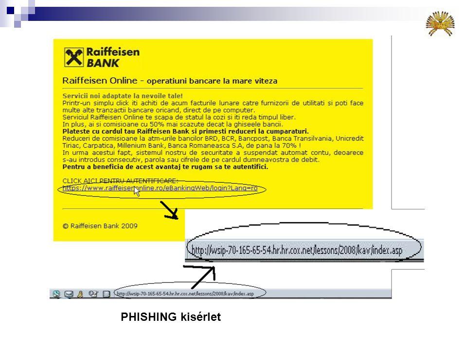 Dupla kiterjesztésű fájlok  A fenti linkek dupla kiterjesztésű fájlt takarnak: postcard.gif.exe!  Ezek 99.999%-ban vírust rejtenek!  Egy kiterjeszt
