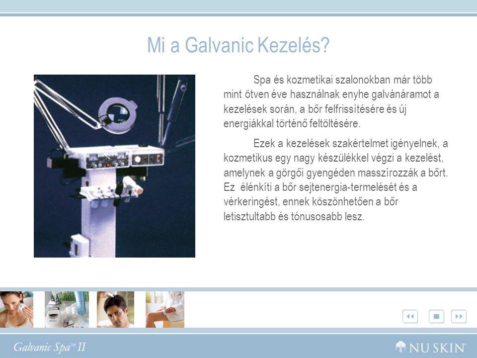 Mi a Galvanic Kezelés.
