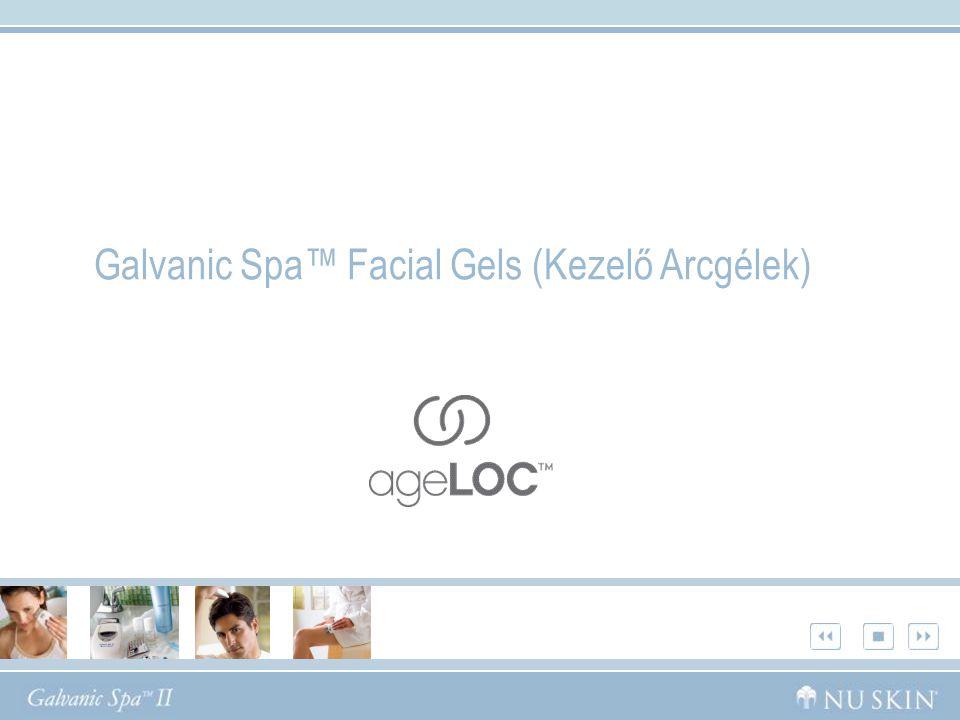 Galvanic Spa™ Facial Gels (Kezelő Arcgélek)