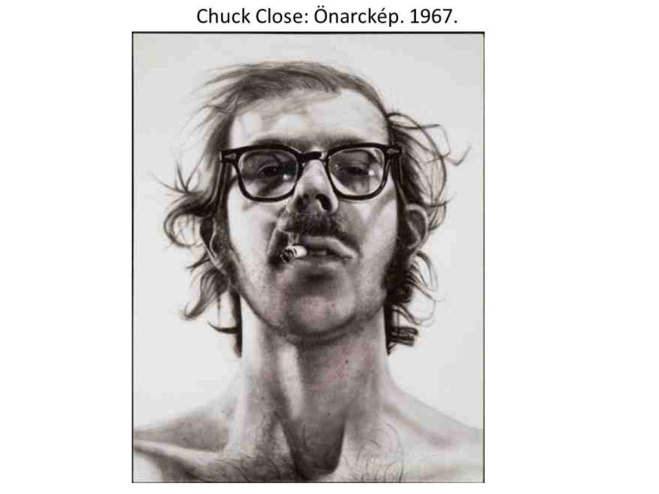 Chuck Close: Önarckép. 1967.