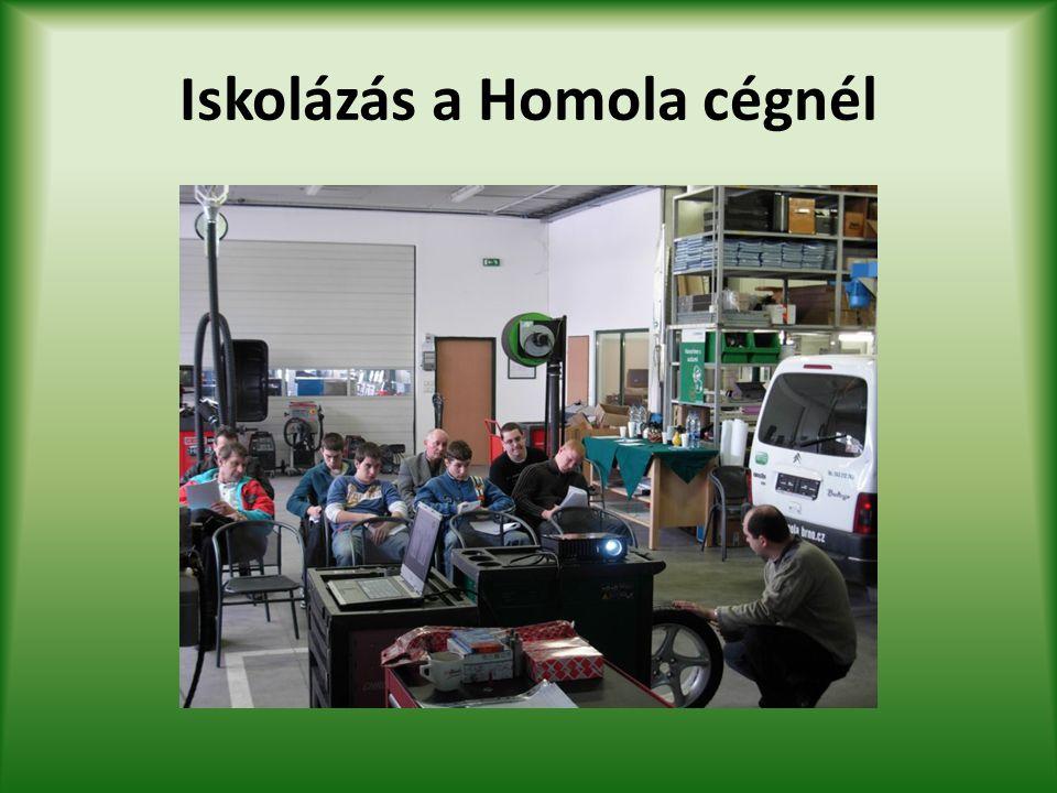 Iskolázás a Homola cégnél