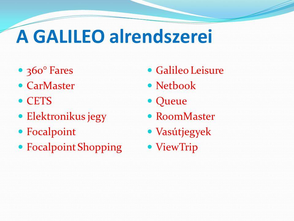 360° Fares - árazási rendszer  Galileo 360º Fares néven megújult és kibővült a Galileo által kínált tarifa és árazási termékek köre.