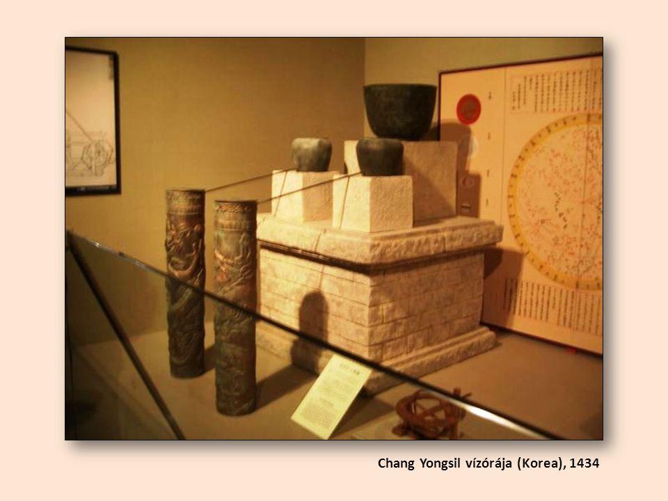 Chang Yongsil vízórája (Korea), 1434