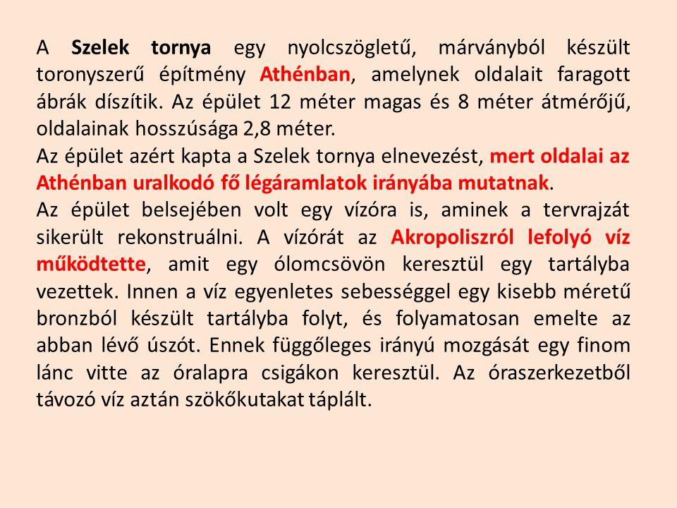 Küroszi Andronikosz: Szelek tornya Athén