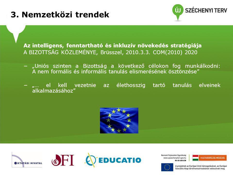 3. Nemzetközi trendek Egyéni tanulási módszerek - mintapélda