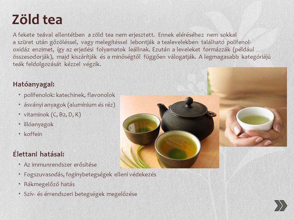 Termesztés • A teacserjét főként Kínában, Indiában, Srí Lankán, Tajvanon, Japánban, Nepálban, Ausztráliában és Kenyában termesztik. • A teanövény két