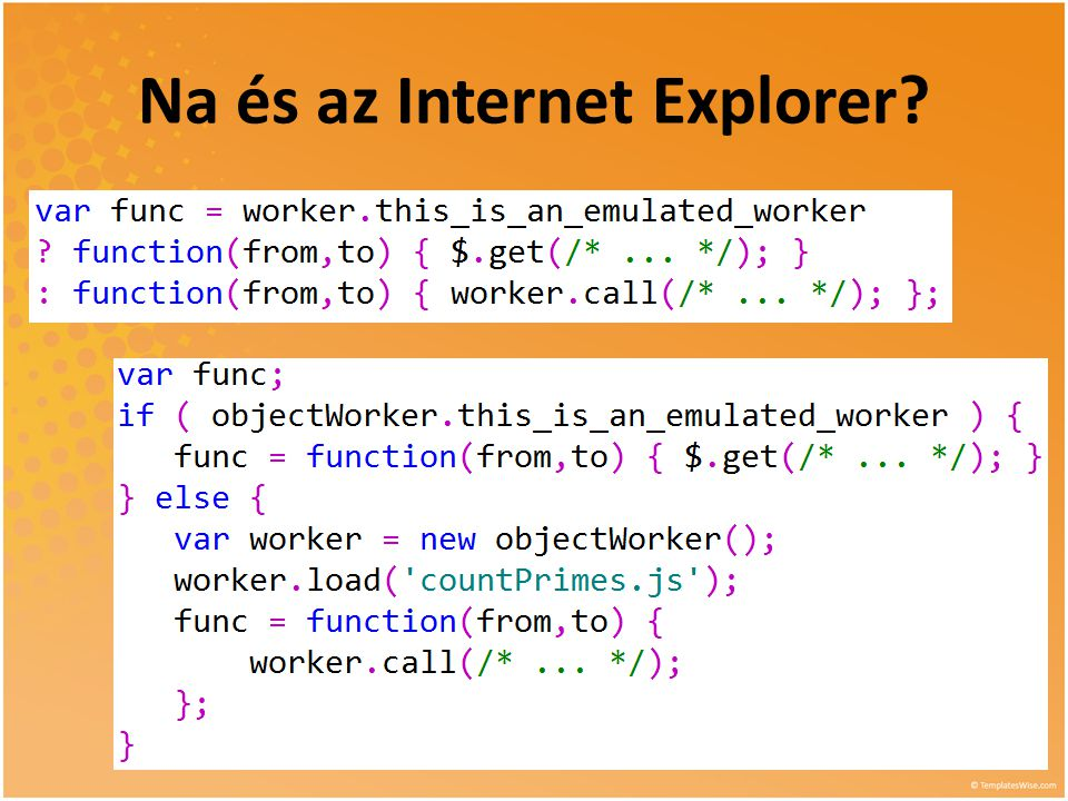 Na és az Internet Explorer?