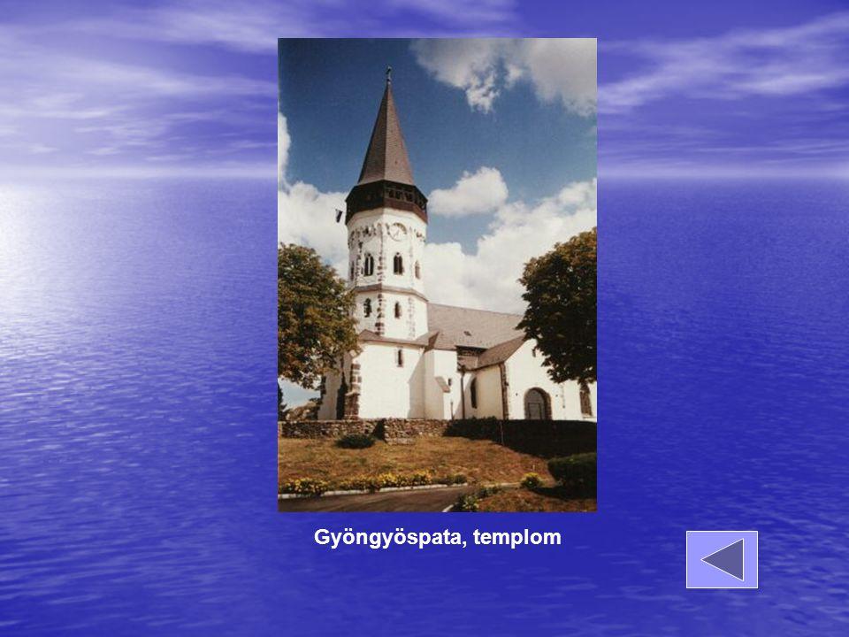 Gyöngyöspata, templom