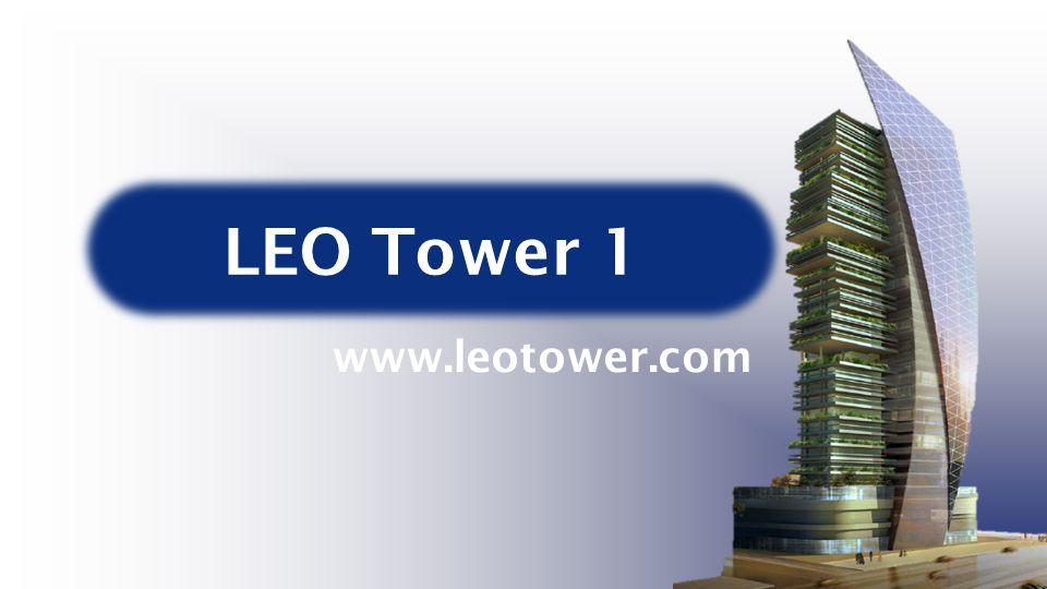 Egyedi dizájnLEO márkaLakó és kereskedelmi ingatlanok elegye LEO Tower 1