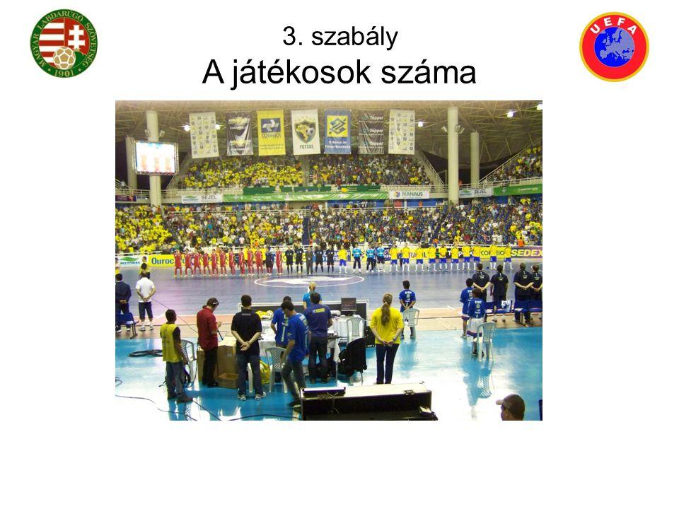 A játékban két csapat vesz részt, legfeljebb öt-öt játékossal, akik közül egy-egy a kapus.