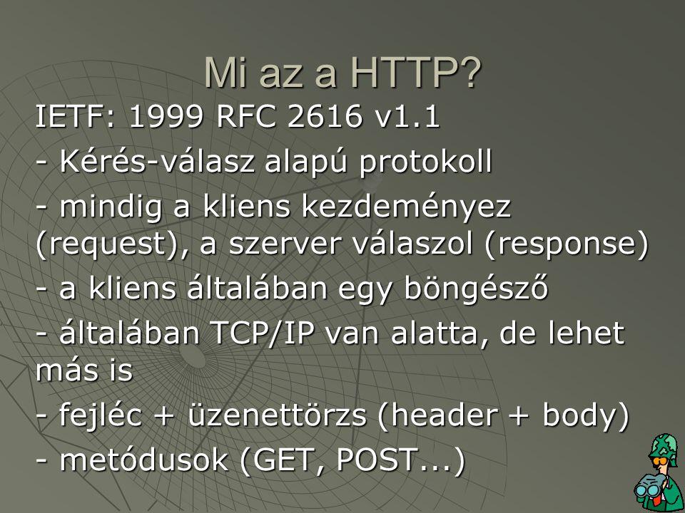 Mi az a HTTP.