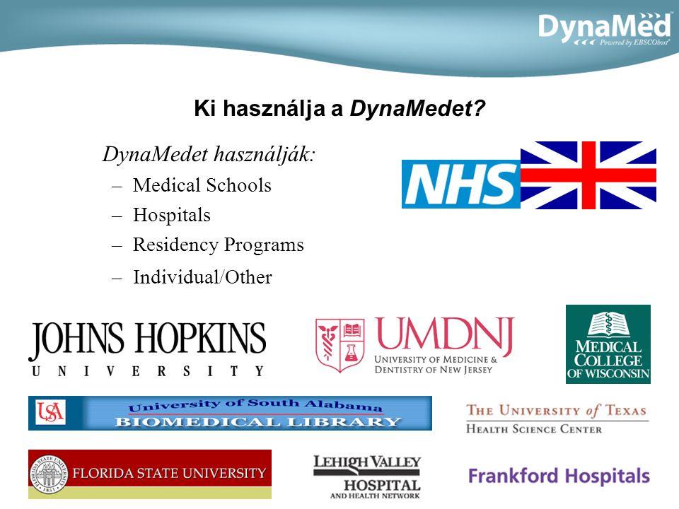Három fő ok a DynaMed használatára Napi frissítés Univerzális hozzáférhetőség (ability to access from the hospital, home and handheld device)