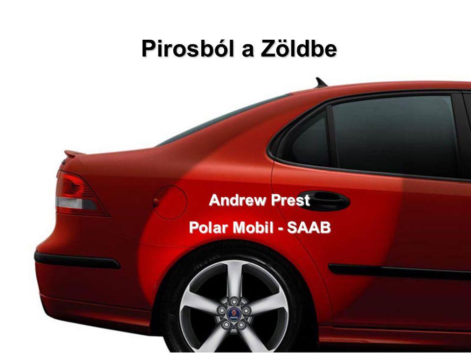 Pirosból a Zöldbe Andrew Prest Polar Mobil - SAAB
