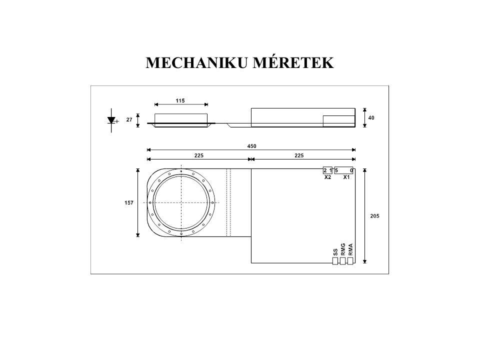 MECHANIKU MÉRETEK