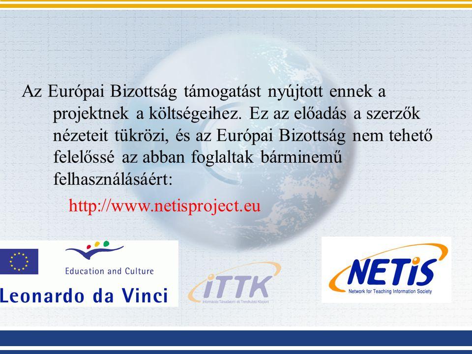 Az Európai Bizottság támogatást nyújtott ennek a projektnek a költségeihez.