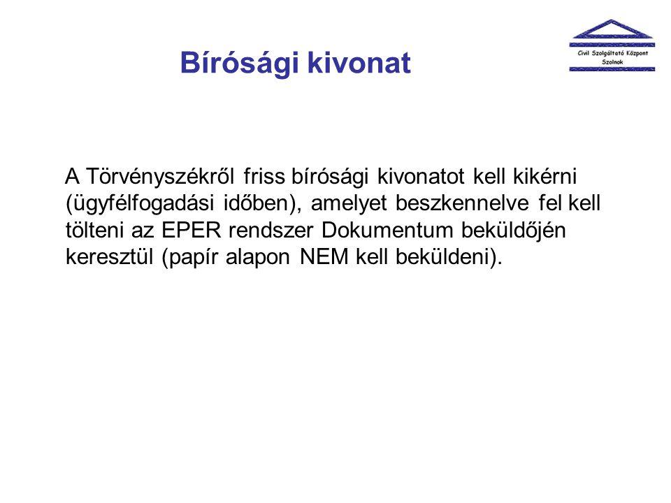 Számviteli beszámoló és közhasznúsági jelentés A számviteli beszámoló és közhasznúsági jelentés eredeti példányát beszkennelve (oldalhű digitális másolat) az EPER rendszerben a pályázat véglegesítésének napjáig küldjék be a Dokumentum beküldőn keresztül.