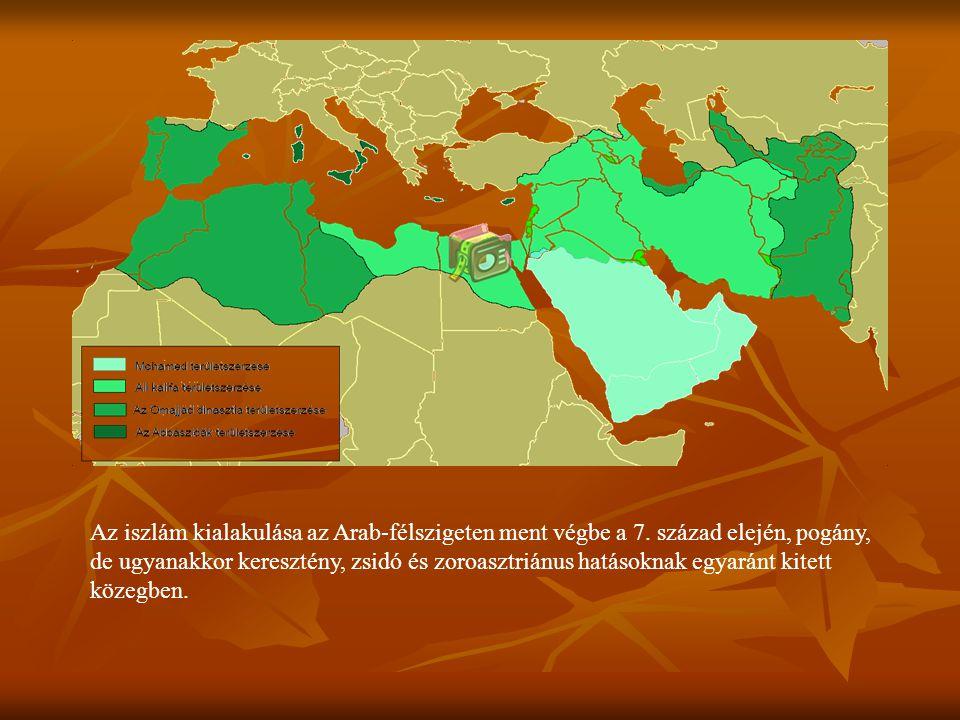 Az iszlám kialakulása az Arab-félszigeten ment végbe a 7. század elején, pogány, de ugyanakkor keresztény, zsidó és zoroasztriánus hatásoknak egyaránt