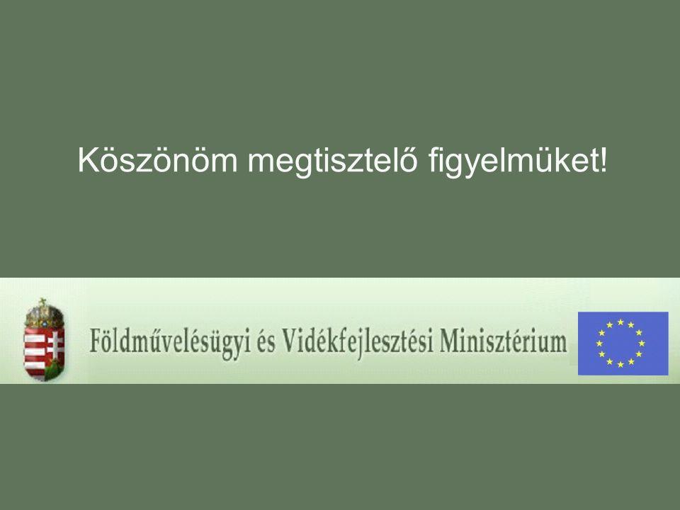 13 Támogatási jogcímek feldolgozottsága (2005. február 7. állapot)