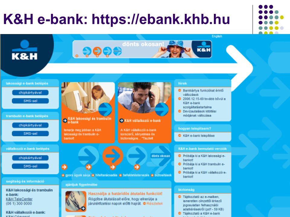 K&H e-bank: https://ebank.khb.hu