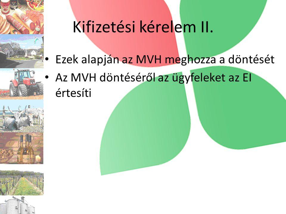EMVA AE jogcím • Keret: 3 162 120 € • Lekötött: 815 127 € • 2010.