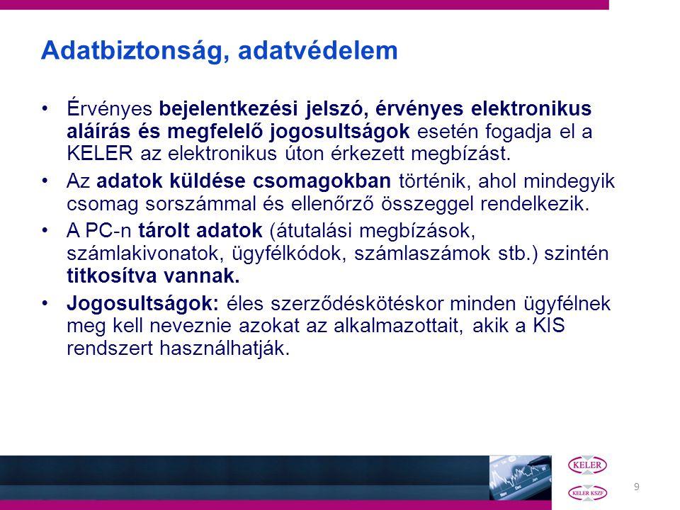 10 Forintelszámolás (PVR) alrendszer HUF számlavezetés Tranzakció felvitel, rögzítés Megbízások –Forintátutalás (HUF) –Lekérdezések Batch, Viber használat Pénzszámla egyenlegek Kivonatok –Számlamozgás esetén: Ügyfélszámla kivonat (K210) –Havonta egyszer : Elszámolt díjak (K220), Kamatértesítő (K232) Belső, külső köri utalások Beadási határidők: Belső: Viber:17:00 Batch :16:30 Külső: Viber:15:45 Batch :16:30 Napzárás