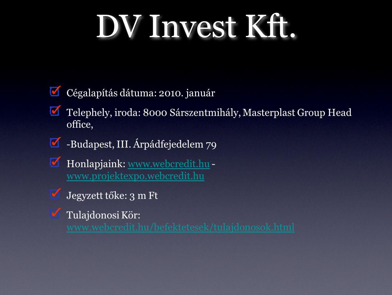 DV Invest Kft.III.