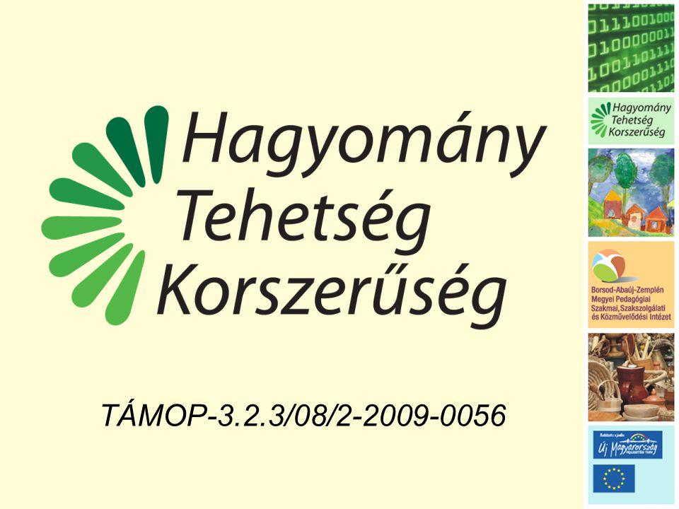 TÁMOP-3.2.3/08/2-2009-0056