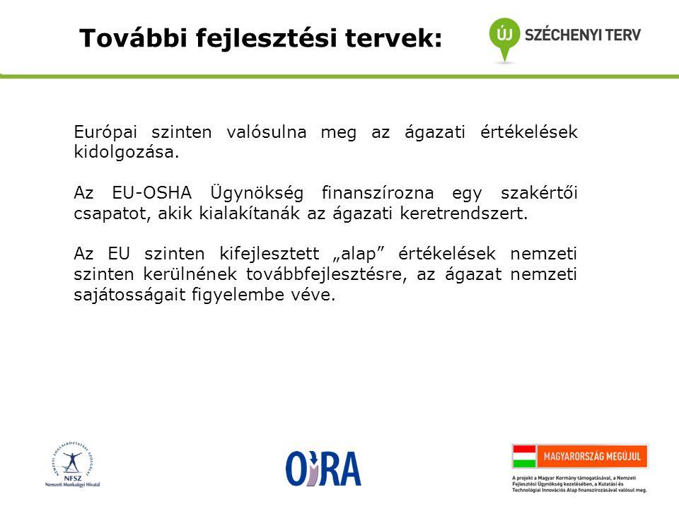 Európai szinten valósulna meg az ágazati értékelések kidolgozása.