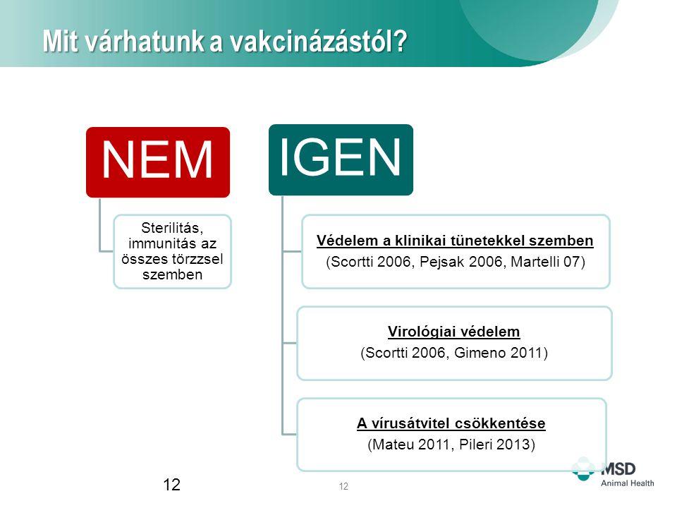 12 Mit várhatunk a vakcinázástól.
