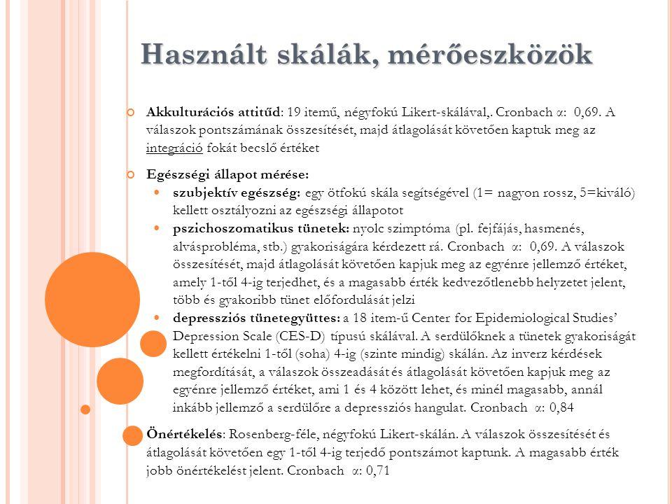 Alapadatok Átlagéletkor: 17,55 év Nemek szerint: 46,3 % fiú; 53,7% lány Származási ország:  Szerbia 79,6 %  Románia 15,7 %  Egyéb (Svédország, Thaiföld stb.): 4,6 % 91,7 % magyar anyanyelvű