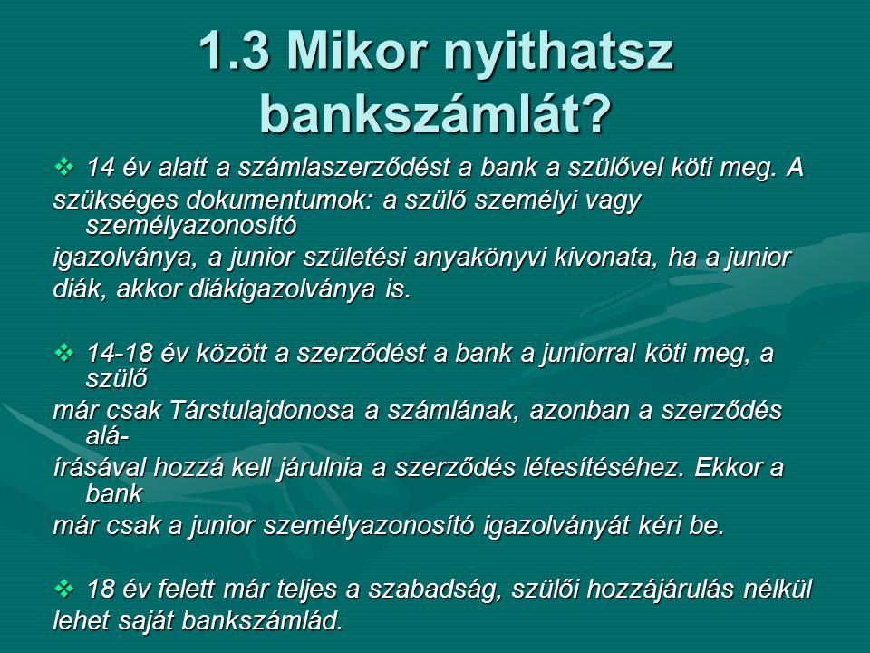 2.7 Mire figyelj az ATM-nél!!.