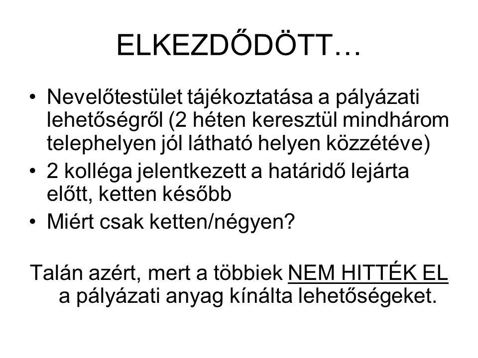 ELKEZDŐDÖTT… 2010.