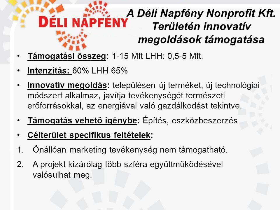 A Déli Napfény Nonprofit Kft.